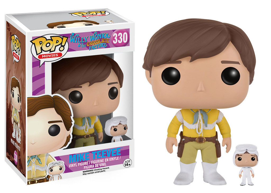 Photo du produit CHARLIE ET LA CHOCOLATERIE FUNKO POP! MOVIES MIKE TEEVEE