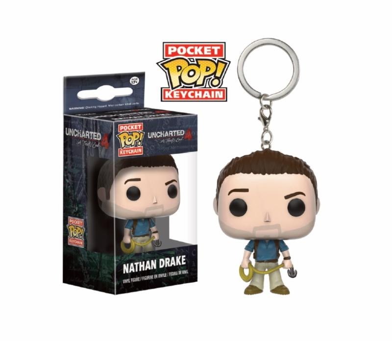 Photo du produit UNCHARTED 4 PORTE-CLES POCKET POP! NATHAN DRAKE