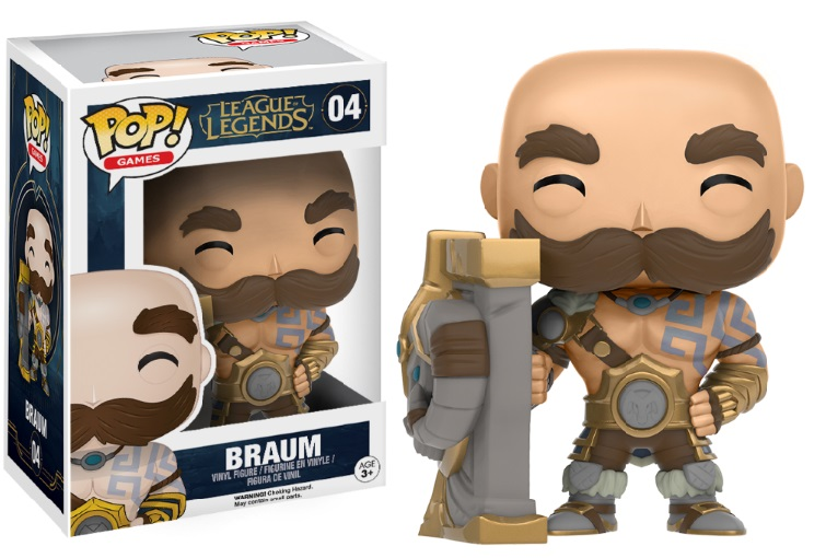 Photo du produit FIGURINE FUNKO POP BRAUM LEAGUE OF LEGENDS