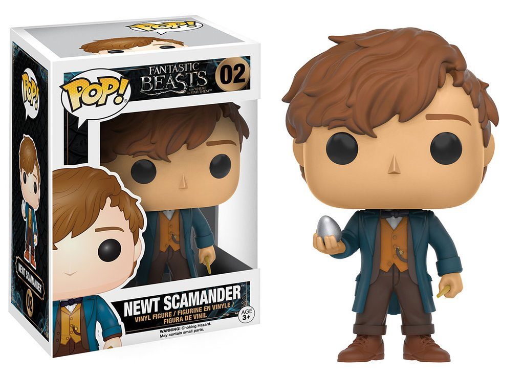 Photo du produit LES ANIMAUX FANTASTIQUES FUNKO POP NEWT SCAMANDER WITH EGG