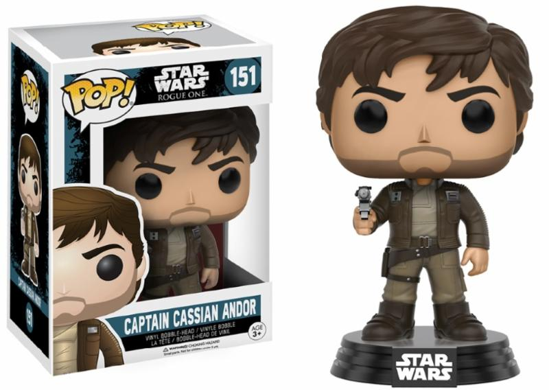 Photo du produit STAR WARS FUNKO POP CPT CASSIAN WITH JACKET