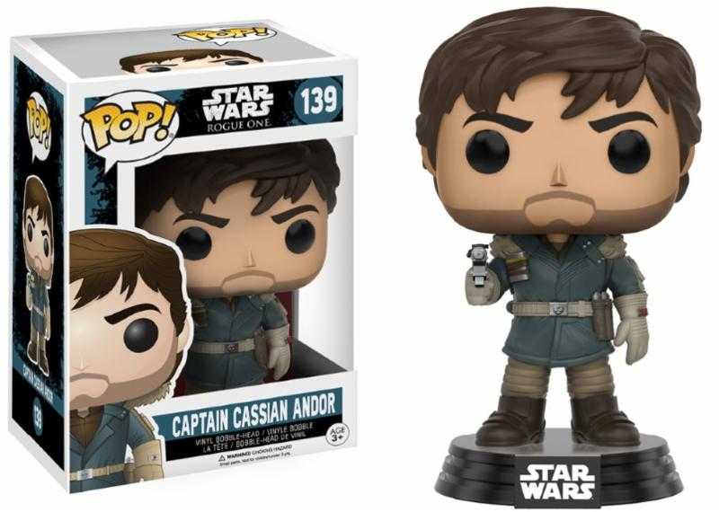 Photo du produit STAR WARS FUNKO POP ROGUE ONE CPT CASSIAN ANDOR