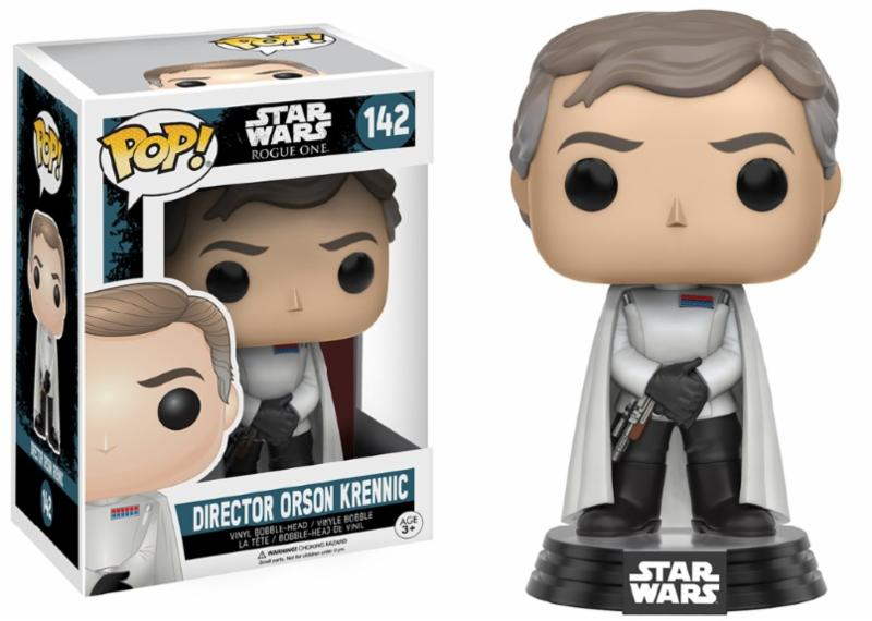 Photo du produit STAR WARS FUNKO POP ROGUE ONE DIRECTOR ORSON KRENNIC