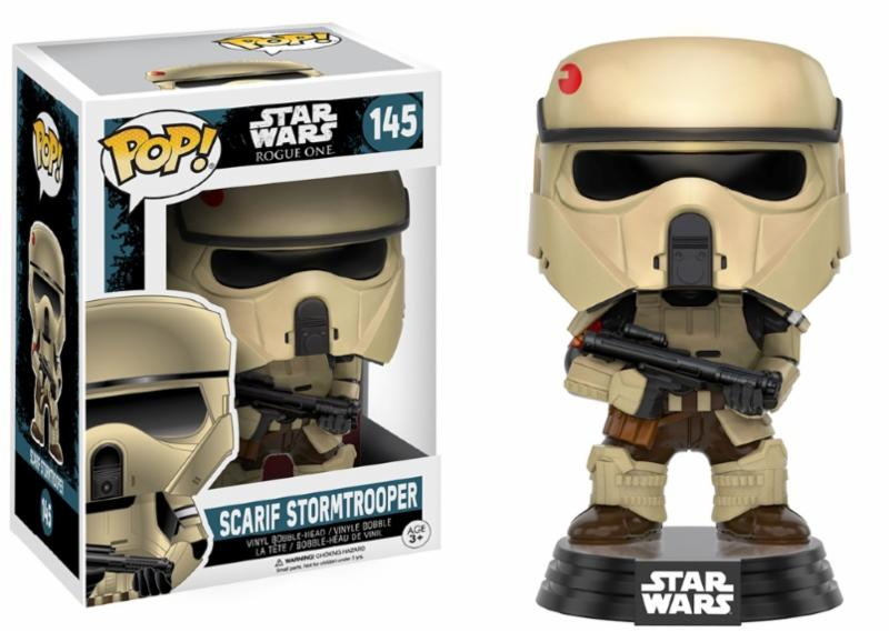 Photo du produit STAR WARS FUNKO POP ROGUE ONE SCARIF STORMTROOPER