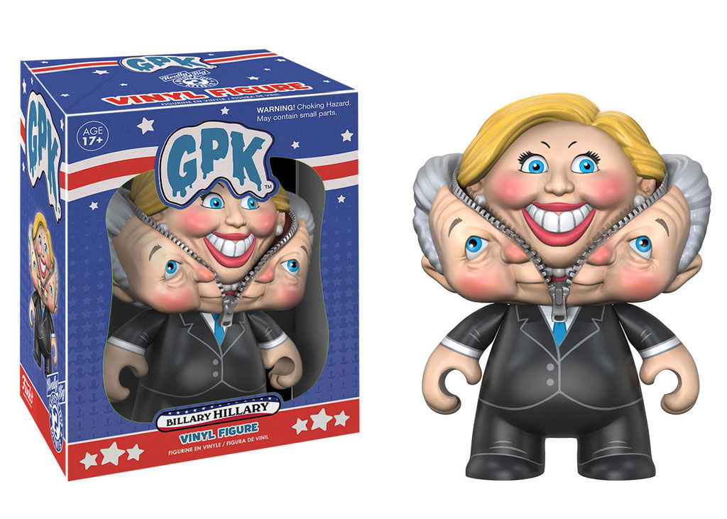 Photo du produit FUNKO POP CAMPAIGN 2016 GARBAGE PAIL KIDS BILLARY HILLARY