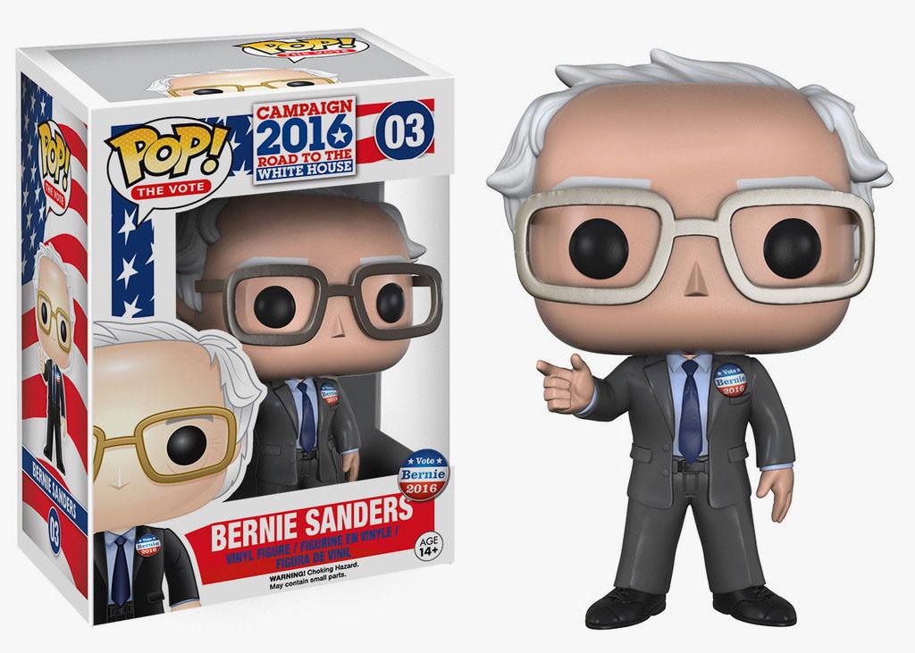Photo du produit Campagne Présidentielle 2016 USA Figurine Funko Pop! Bernie Sanders