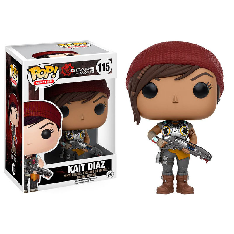 Photo du produit GEARS OF WAR FUNKO POP! GAMES KAIT DIAZ