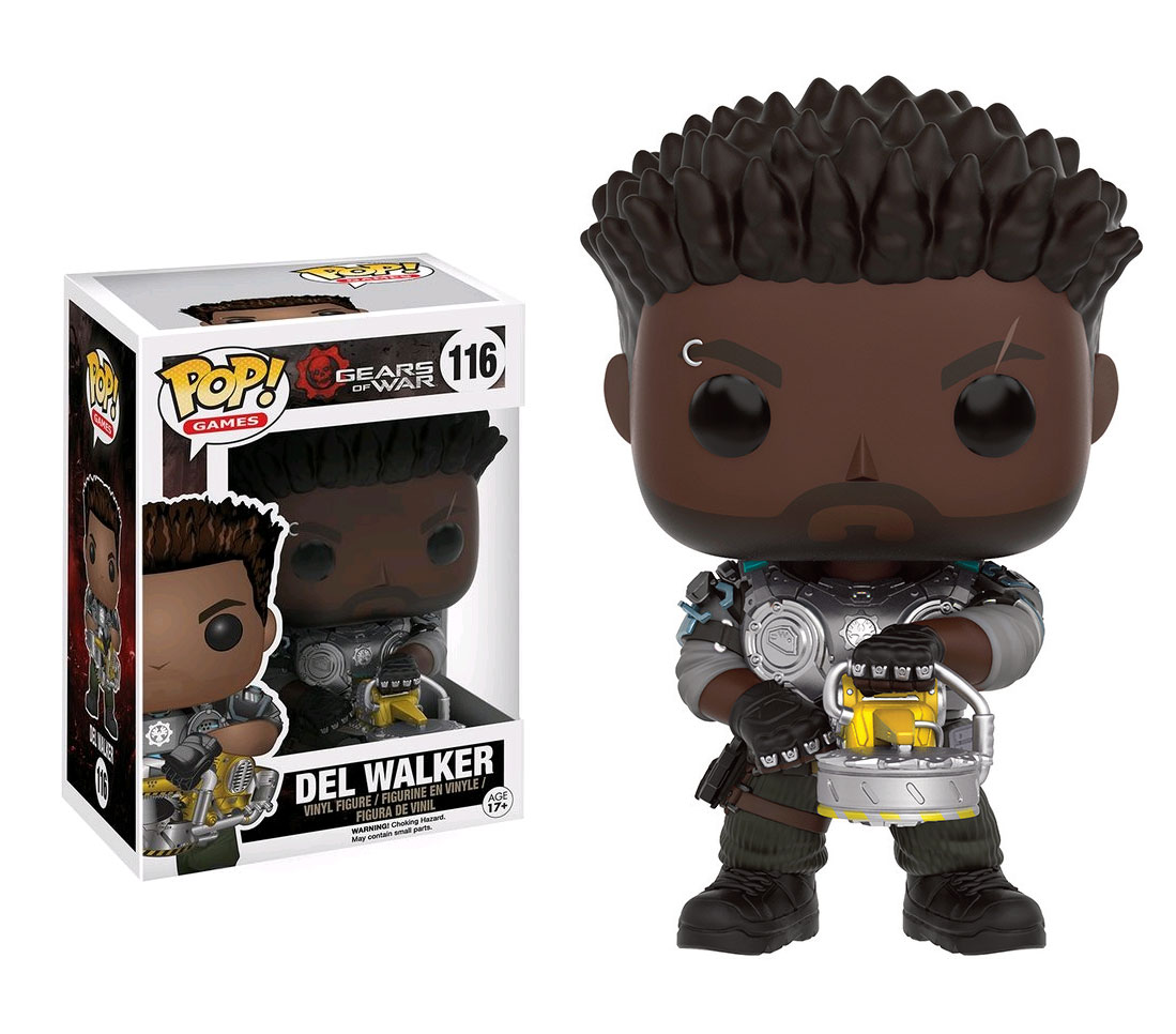Photo du produit GEARS OF WAR FUNKO POP! GAMES DEL WALKER
