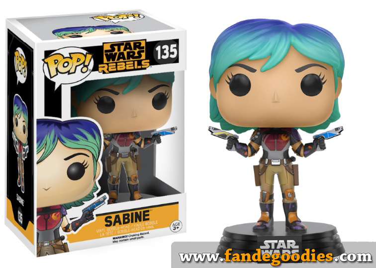 Photo du produit FUNKO POP STAR WARS REBELS SABINE