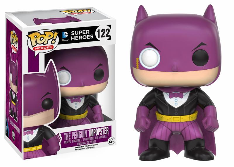 Photo du produit DC COMICS FUNKO POP BATMAN AS THE PENGUIN IMPOPSTER