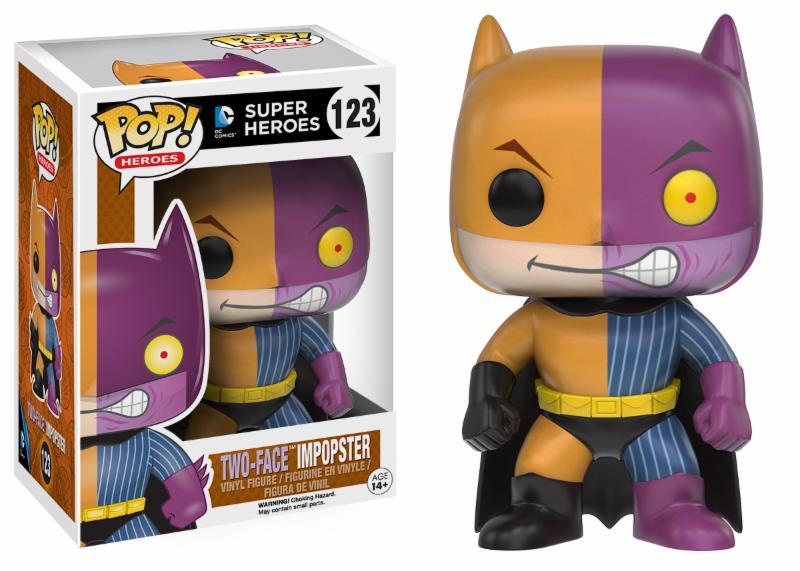 Photo du produit DC COMICS FUNKO POP BATMAN AS TWO-FACE IMPOPSTER