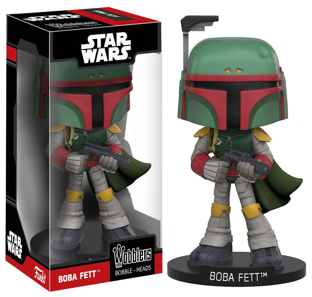 Photo du produit STAR WARS FUNKO WACKY WOBBLER BOBA FETT