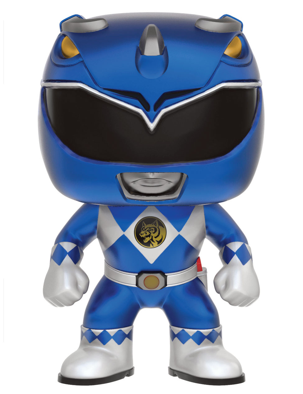 Photo du produit FUNKO POP POWER RANGERS BLUE RANGER (METALLIC)