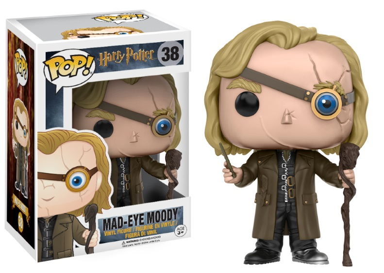 Photo du produit FUNKO POP HARRY POTTER MAD-EYE MOODY