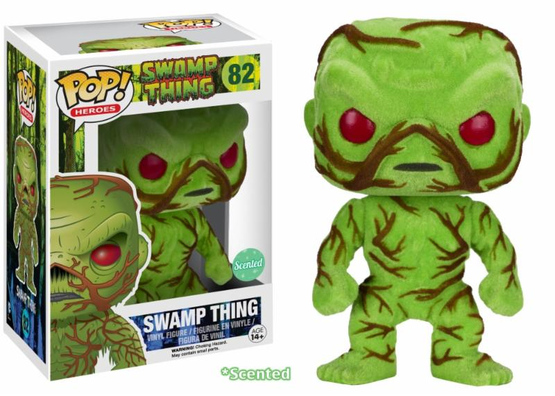Photo du produit FUNKO POP SWAMP THING FLOCKED & SCENTED LIMITED EDITION