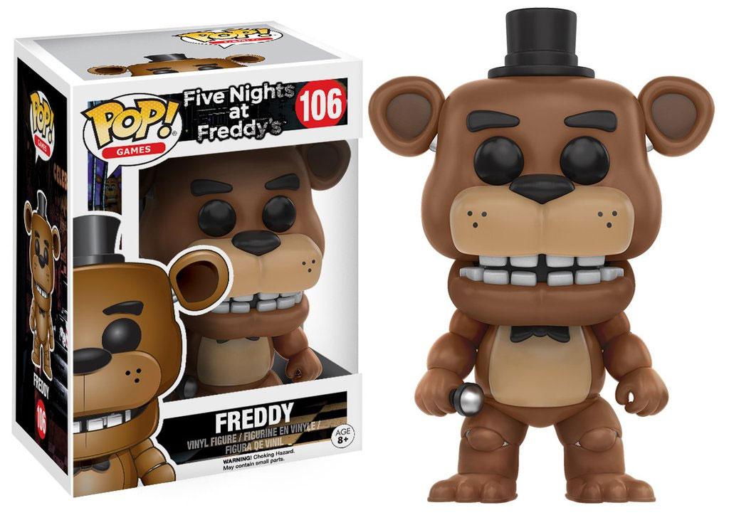 Photo du produit FUNKO POP FREDDY FIVE NIGHTS AT FREDDY'S