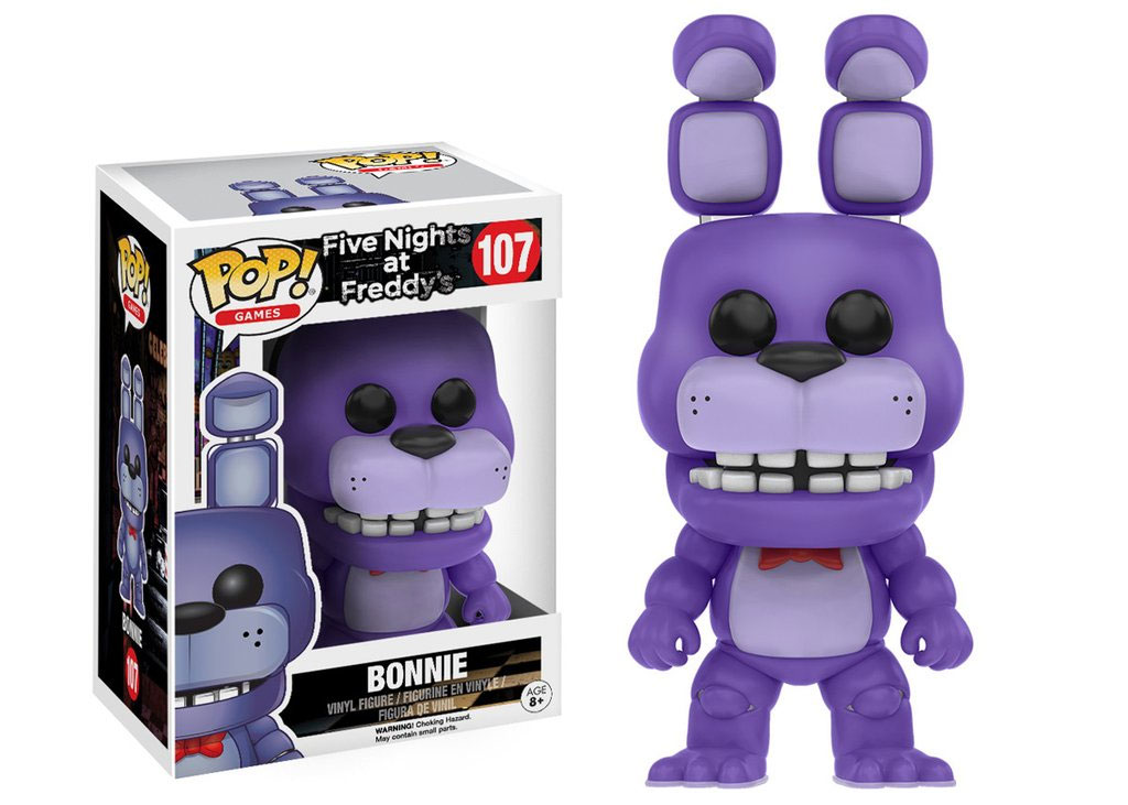 Photo du produit FUNKO POP BONNIE FIVE NIGHTS AT FREDDY'S