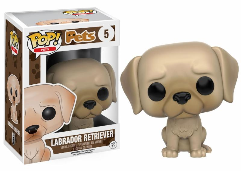Photo du produit FUNKO POP PETS DOG LABRADOR RETRIEVER