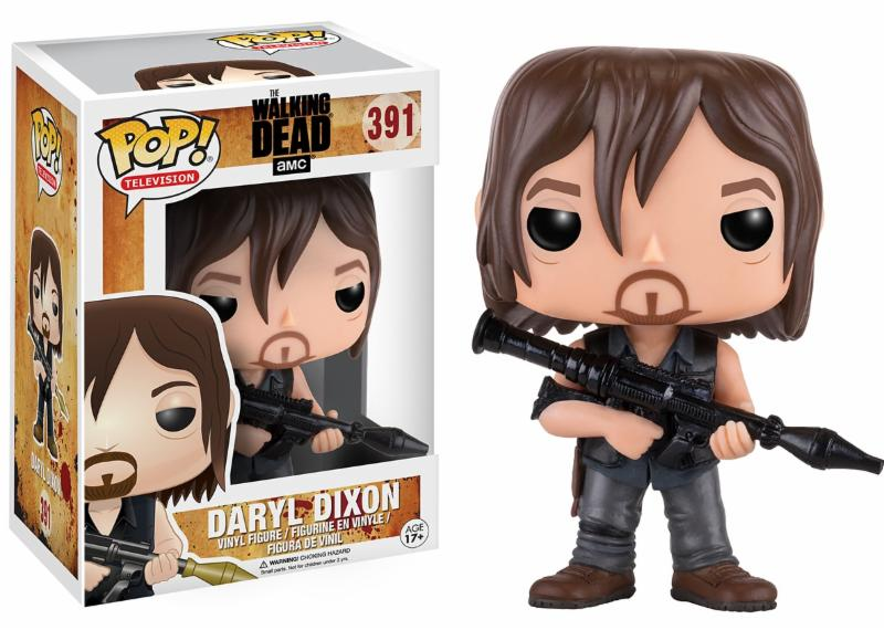 Photo du produit WALKING DEAD FUNKO POP DARYL DIXON (ROCKET LAUNCHER)