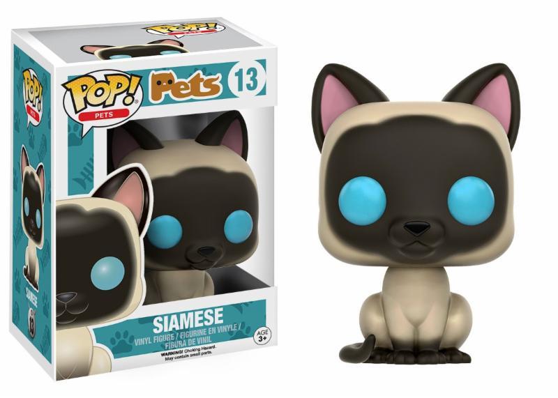 Photo du produit FUNKO POP! PETS CAT SIAMESE