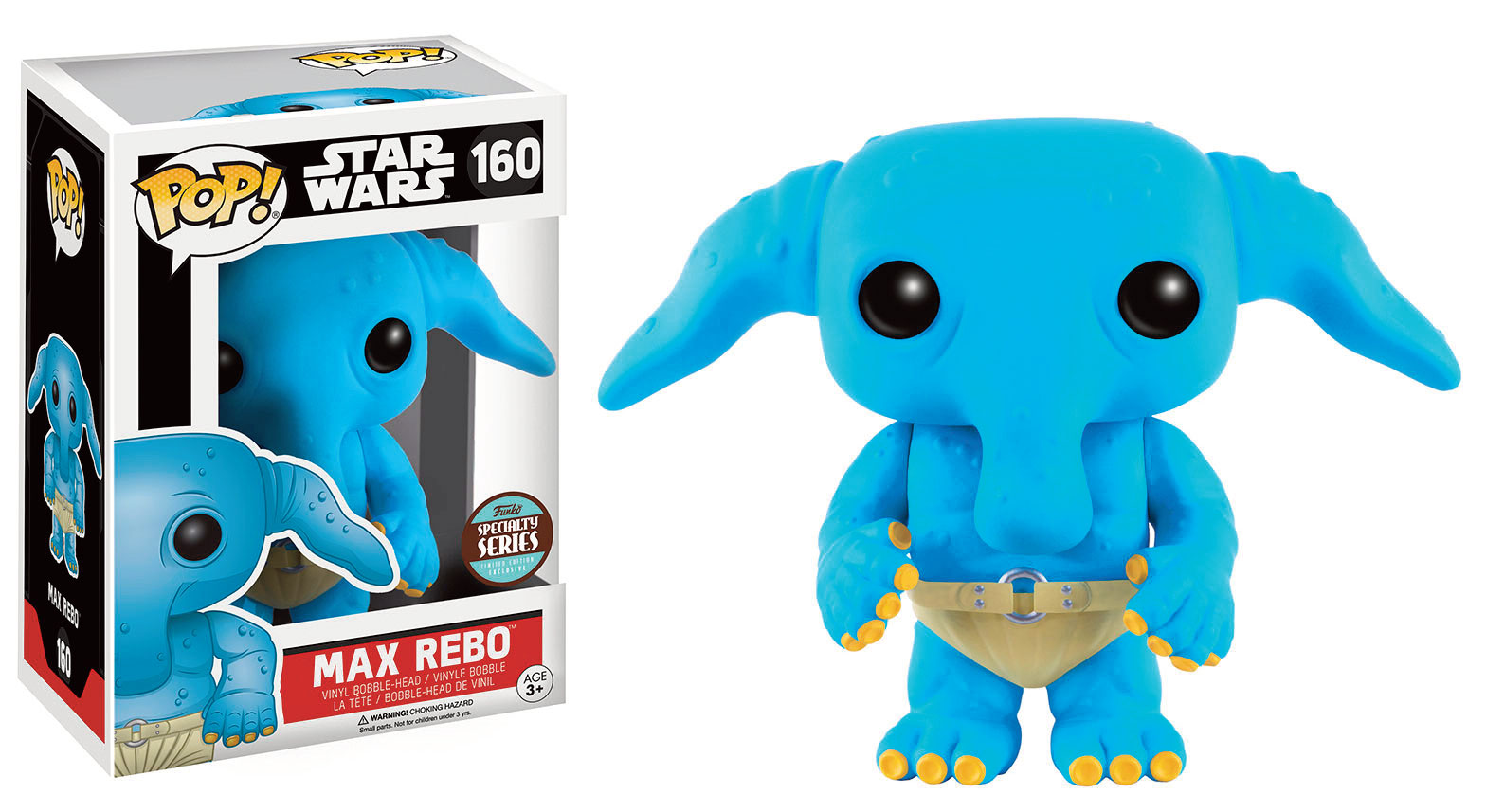 Photo du produit STAR WARS POP! VINYL BOBBLE HEAD SPECIALITY SERIES MAX REBO