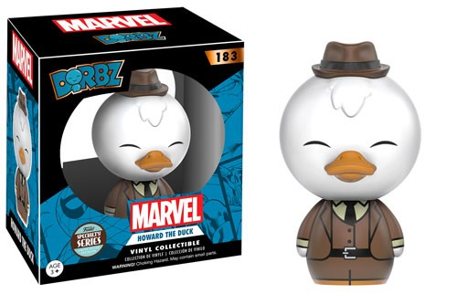 Photo du produit MARVEL FUNKO DORBZ HOWARD THE DUCK SPECIALTY SERIES LIMITED EDITION GOTG