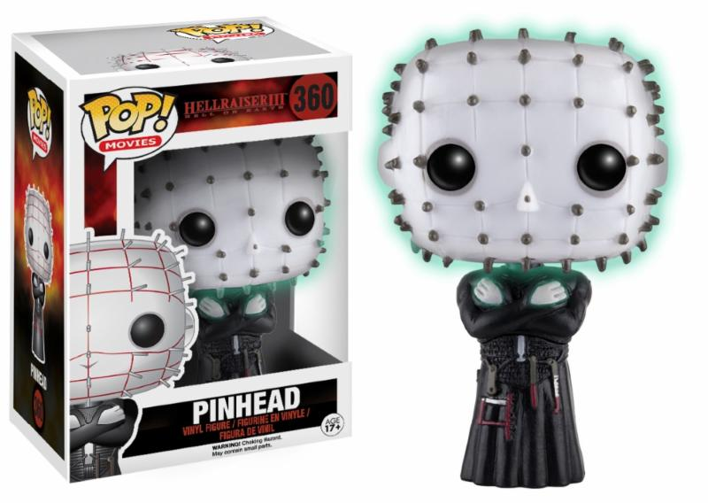 Photo du produit HELLRAISER FUNKO POP! PINHEAD GITD