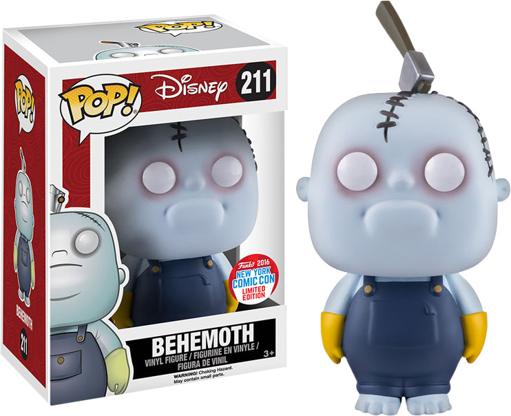 Photo du produit L'ETRANGE NOEL DE JACK FUNKO POP BEHEMOTH NYCC EXCLUSIVE