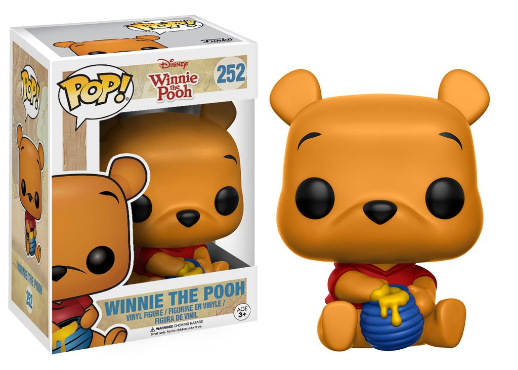 Photo du produit FUNKO POP WINNIE L´OURSON FIGURINE SEATED POOH