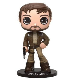Photo du produit STAR WARS FUNKO WACKY WOBBLER ROGUE ONE CPT CASSIAN