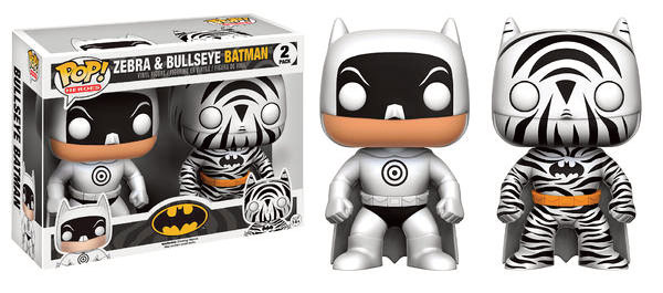 Photo du produit FUNKO POP PACK ZEBRA & BULLSEYE BATMAN