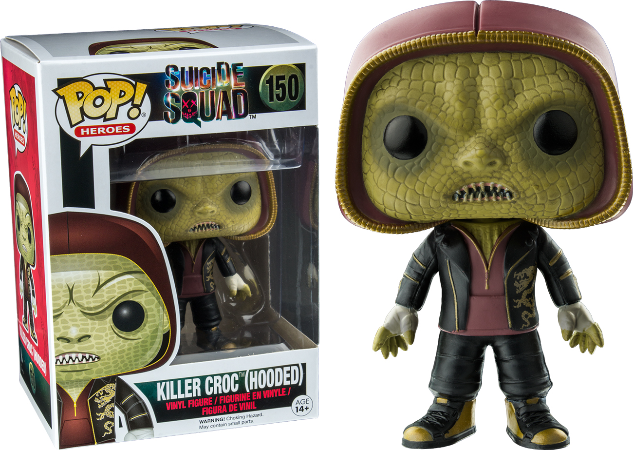 Photo du produit FUNKO POP SUICIDE SQUAD KILLER CROC (HOODED)