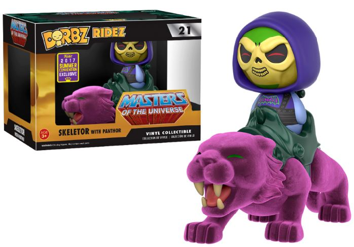 Photo du produit SDCC 2017 FUNKO DORBZ FLOCKED PANTHOR EXCLUSIVE - MASTERS OF THE UNIVERSE
