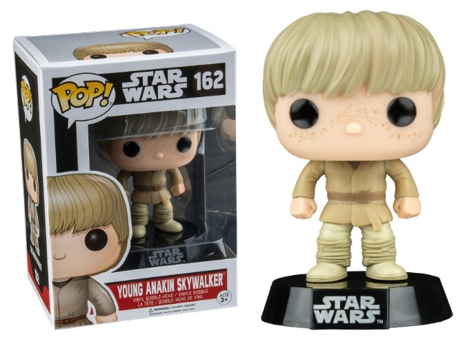Photo du produit FUNKO POP! STAR WARS - YOUNG ANAKIN SKYWALKER