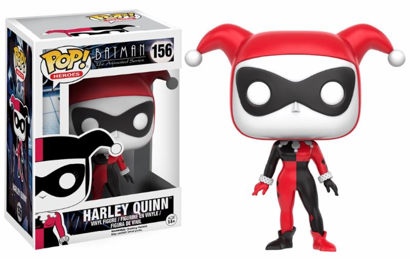 Photo du produit FUNKO POP HARLEY QUINN THE ANIMATED SERIES