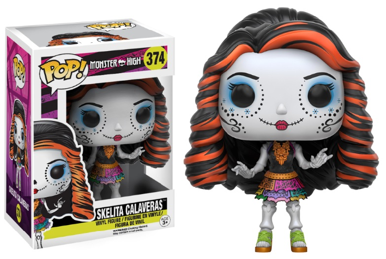 Photo du produit FUNKO POP MONSTER HIGH SKELITA CALAVERAS
