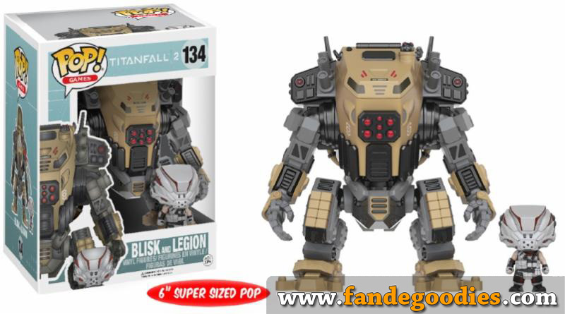 Photo du produit FUNKO POP TITANFALL BLISK AND LEGION OVERSIZED