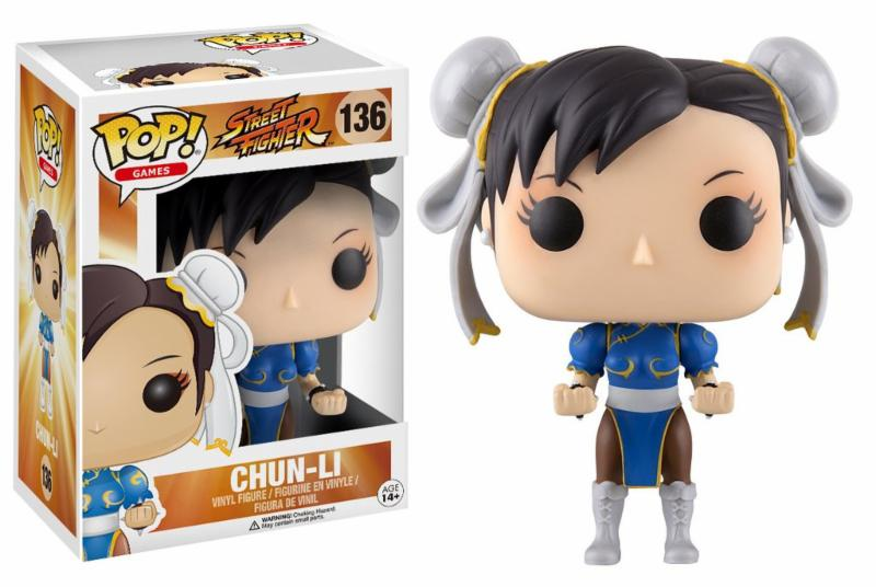 Photo du produit FUNKO POP STREET FIGHTER CHUN-LI