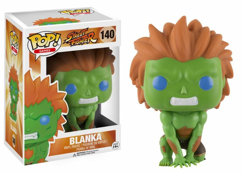 Photo du produit FUNKO POP STREET FIGHTER BLANKA