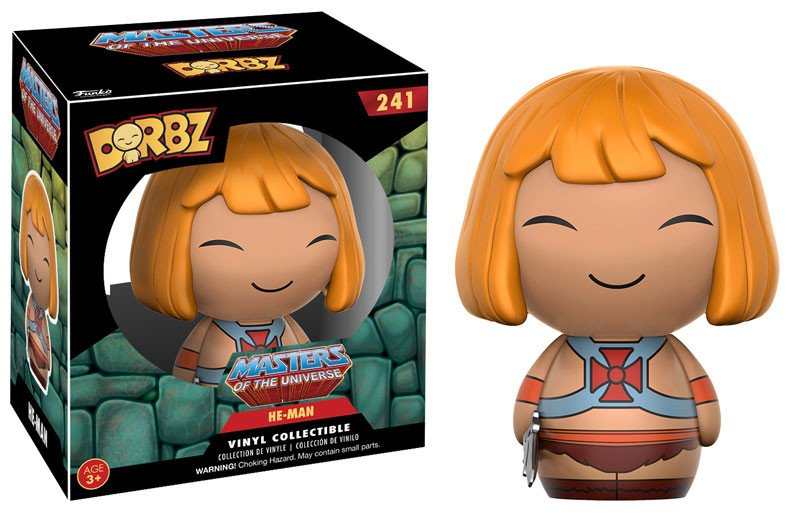 Photo du produit MASTERS OF THE UNIVERSE FIGURINE DORBZ HE-MAN