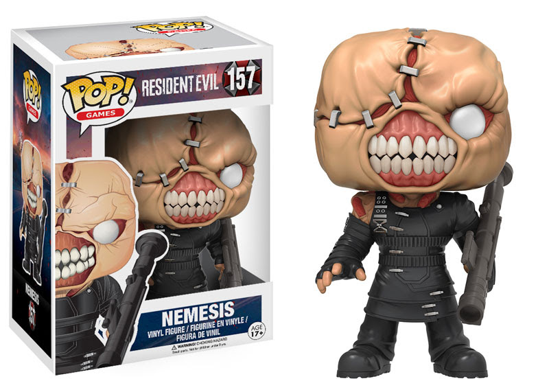 Photo du produit FIGURINE FUNKO POP! RESIDENT EVIL NEMESIS