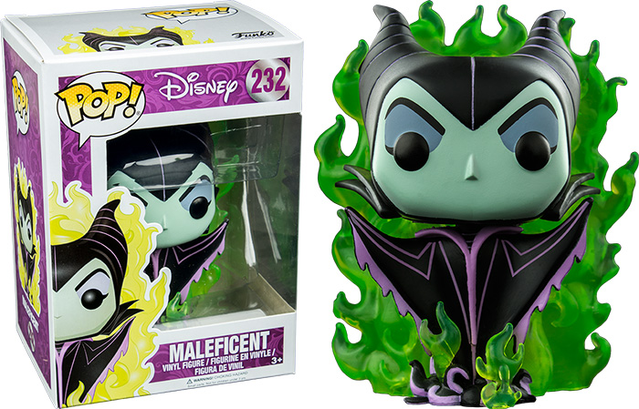 Photo du produit MALEFICENT FUNKO POP! MALEFICENT GREEN FLAME