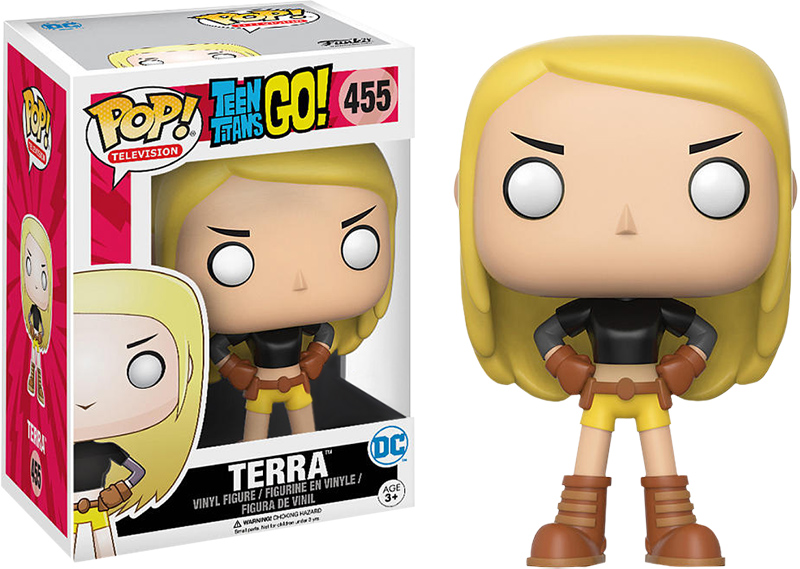 Photo du produit FUNKO POP TEEN TITANS GO! TERRA