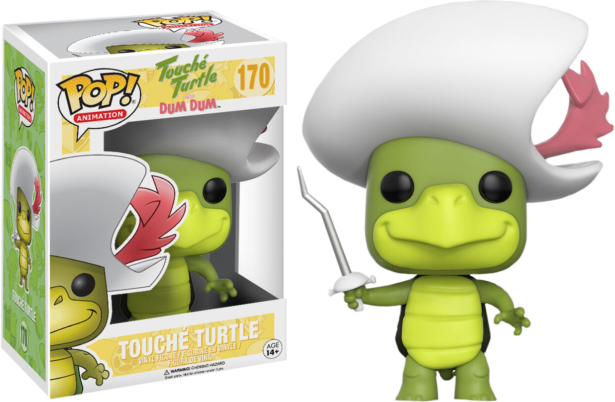 Photo du produit HANNA-BARBERA FUNKO POP TOUCHE TURTLE