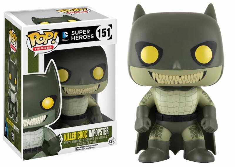 Photo du produit FUNKO POP BATMAN/KILLER CROC IMPOPSTER