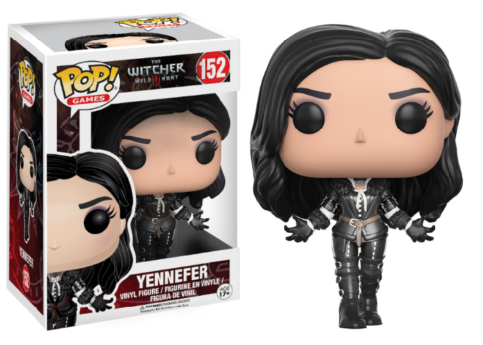 Photo du produit FIGURINE POP! THE WITCHER YENNEFER