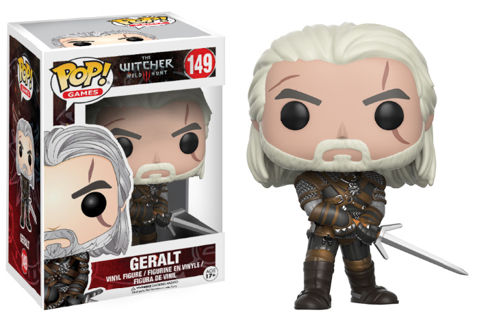 Photo du produit FIGURINE POP! THE WITCHER GERALT