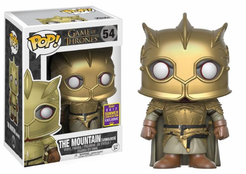 Photo du produit SDCC 2017 FUNKO POP THE MOUNTAIN WITH GOLD EXCLUSIVE - GAME OF THRONES