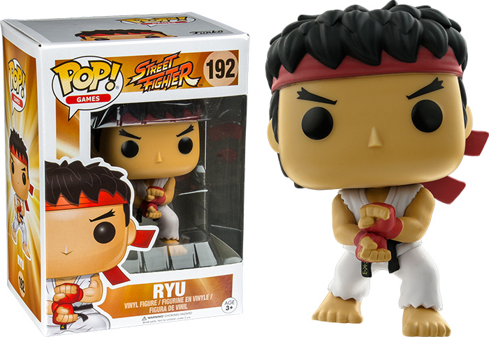 Photo du produit FUNKO POP STREET FIGHTER RYU SPECIAL ATTACK