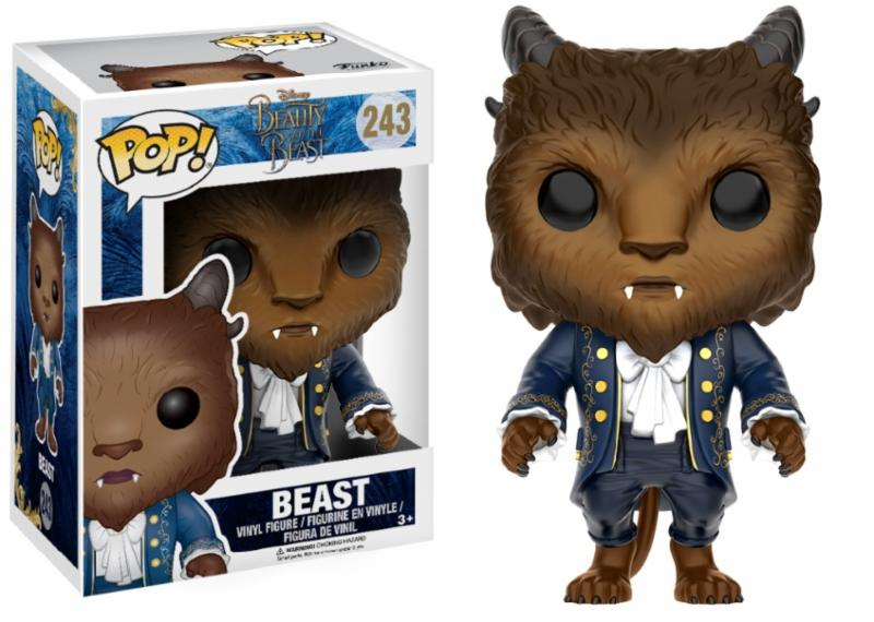 Photo du produit DISNEY FUNKO POP LA BELLE ET LA BETE FIGURINE BEAST